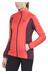 Salomon Drifter Mid Jacket Women infrared/pinot noir